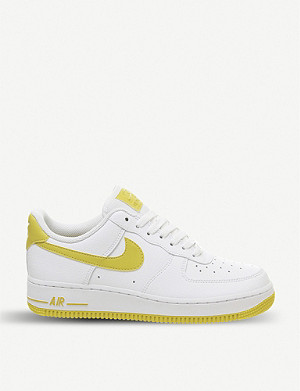 NIKE Air force 1 07 leather trainers