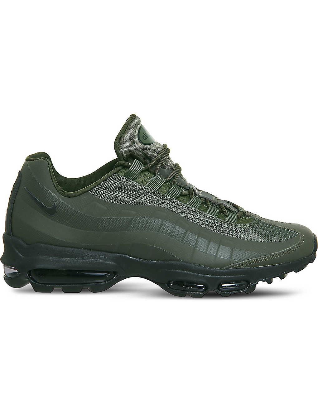 3b3790290a4c6 NIKE - Air Max 95 Ultra leather and mesh trainers | Selfridges.com