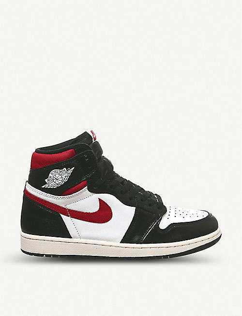 NIKE Air Jordan 1 Retro leather high-top trainers