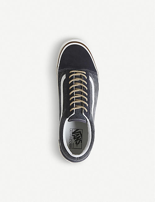 VANS Anaheim Factory Old Skool DX suede suede and canvas trainers