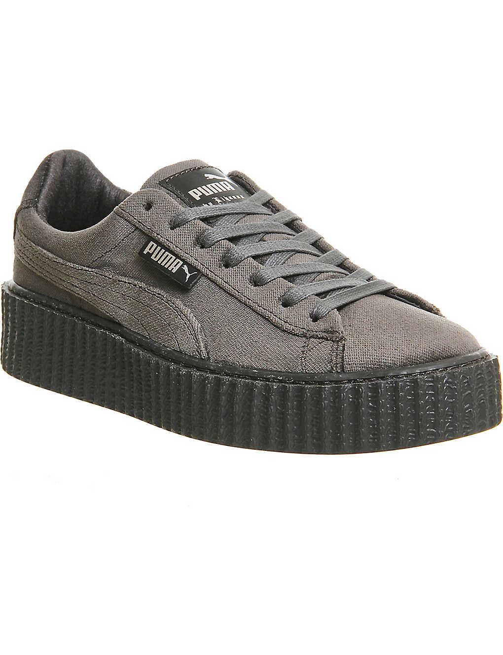 best sneakers f6b4c 7500e PUMA - Fenty x PUMA velvet creepers | Selfridges.com