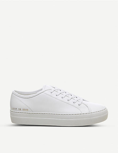 COMMON PROJECTS Tournament Super leather low-top trainers