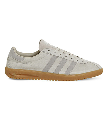 more photos 1c9ba 96d48 ... ADIDAS Bermuda leather trainers (Clear+brown+gum. PreviousNext