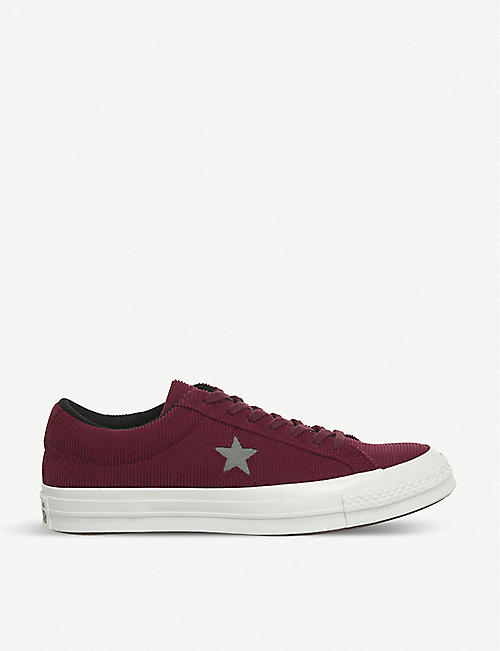 a2bcd61c6bae CONVERSE One Star corduroy low-top trainers