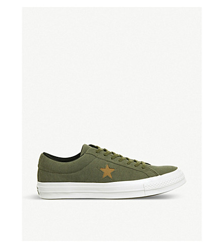b073326451125f CONVERSE - One Star corduroy low-top trainers