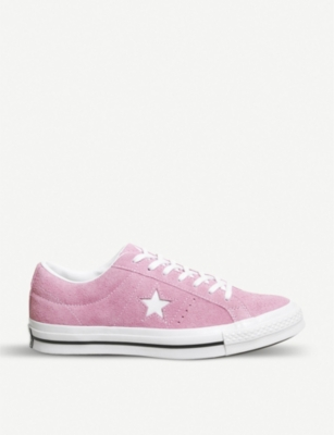 CONVERSE One Star low-top suede trainers