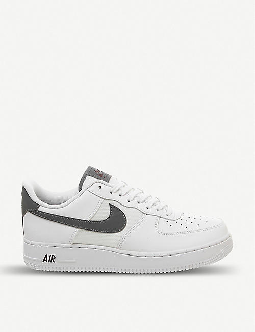 new products a8c19 84f48 NIKE Air force 1 07 leather trainers
