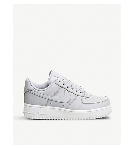 new style c34e6 10227 ... NIKE Air Force 1 07 leather trainers (Wolf+grey+glitter. PreviousNext