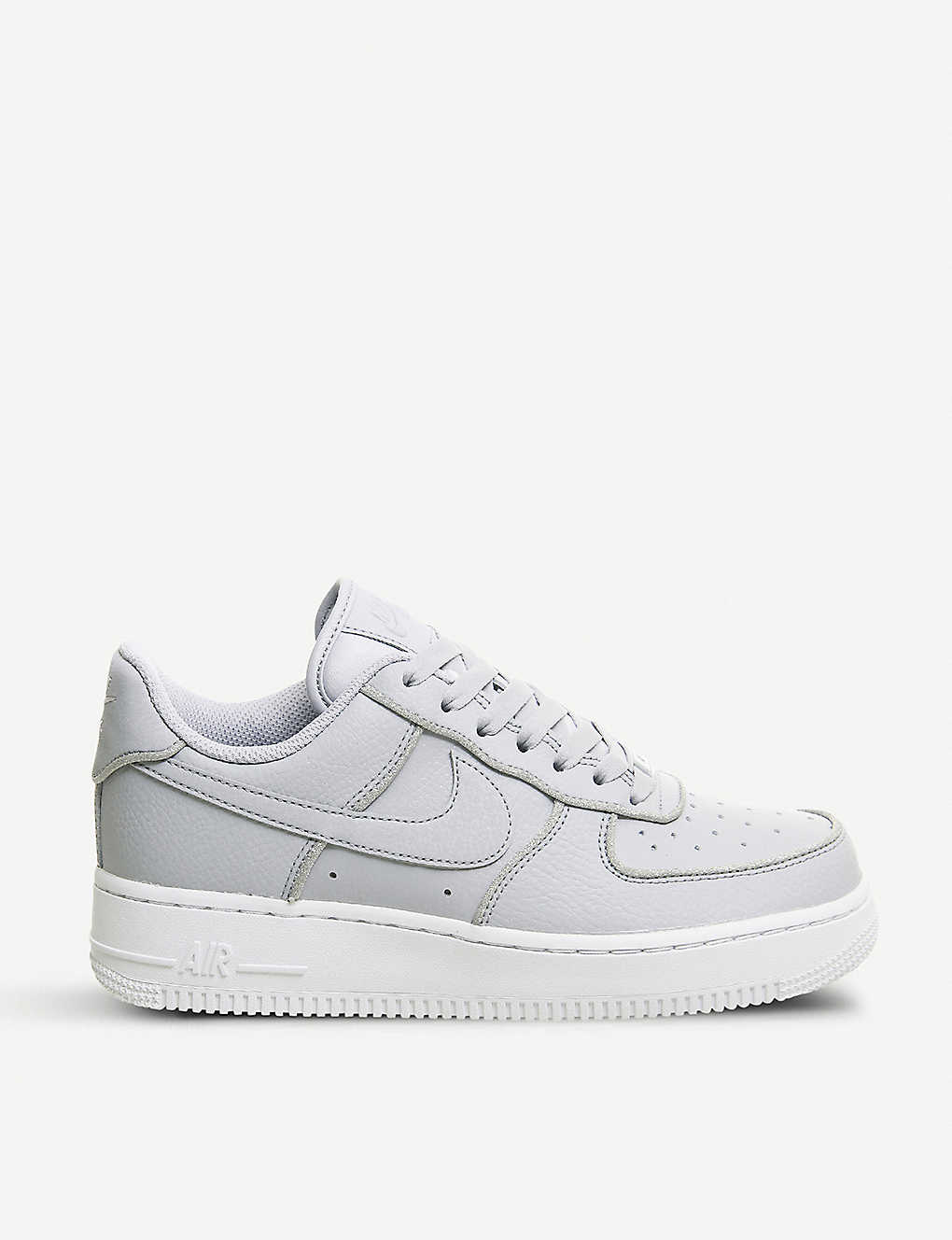 new concept a48ca c6e11 NIKE Air Force 1 07 leather trainers