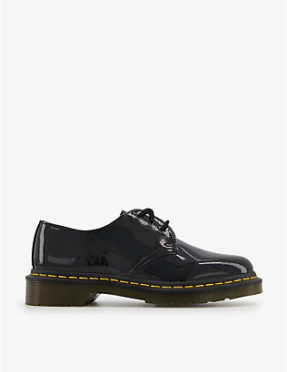 DR. MARTENS: 1461 3-eye patent leather shoes