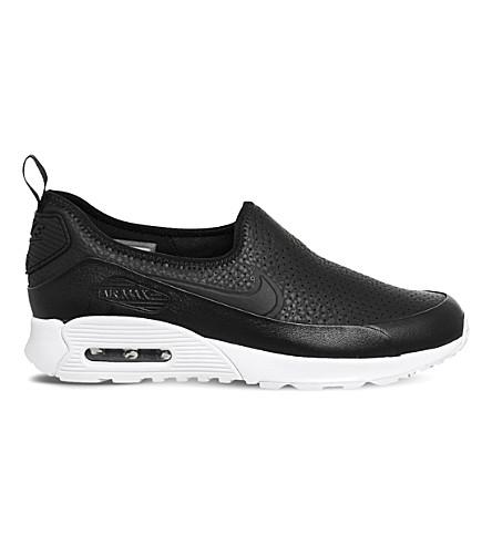 c44d42a96bbce NIKE Air Max 90 Ultra 2.0 EZ leather trainers (Black+black+white