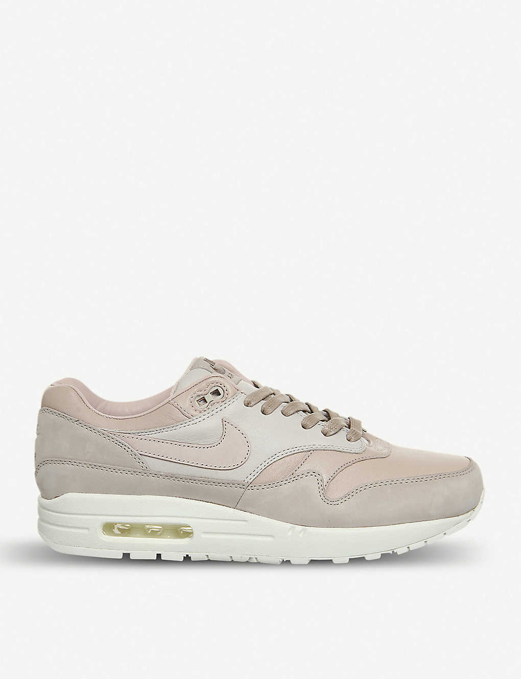 on sale ba603 162ef Nike Lab Air Max 1 Pinnacle leather trainers - Sand particle beige ...