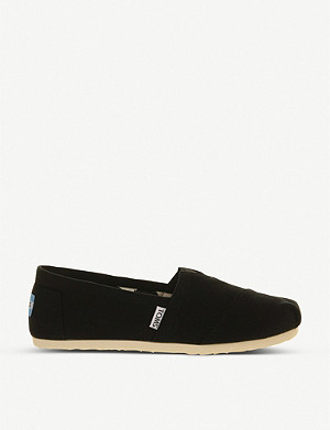 TOMS Classic canvas shoes