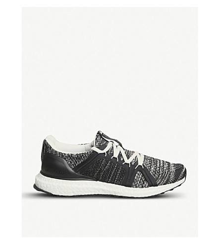 low priced 873c1 f34d7 ADIDAS ORIGINALS Stella Mccartney X Ultra Boost Primeknit Sneakers, Black  White Parley