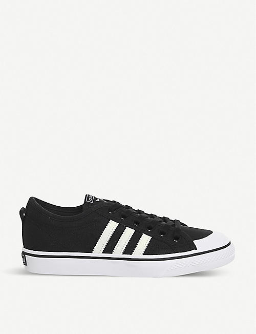 b1c78c1494d2 ADIDAS Nizza canvas low-top trainers