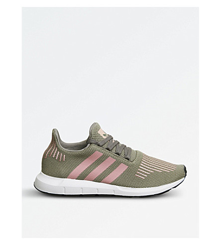 b059bd4cffce1 Adidas Originals Swift Run Knitted Trainers In Trace Cargo Pink ...