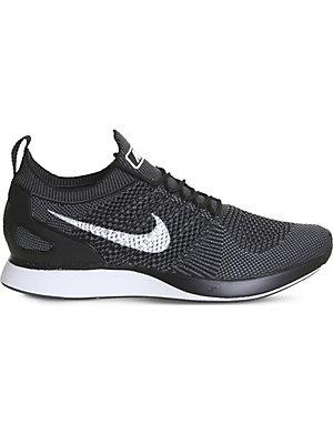 3db04b091ad1 NIKE Air Zoom Mariah Flyknit Racer trainers (Black+white+grey