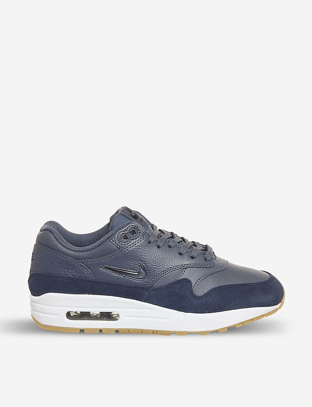 4972e1dd1 NIKE - Air Max 1 Jewel leather and suede trainers | Selfridges.com