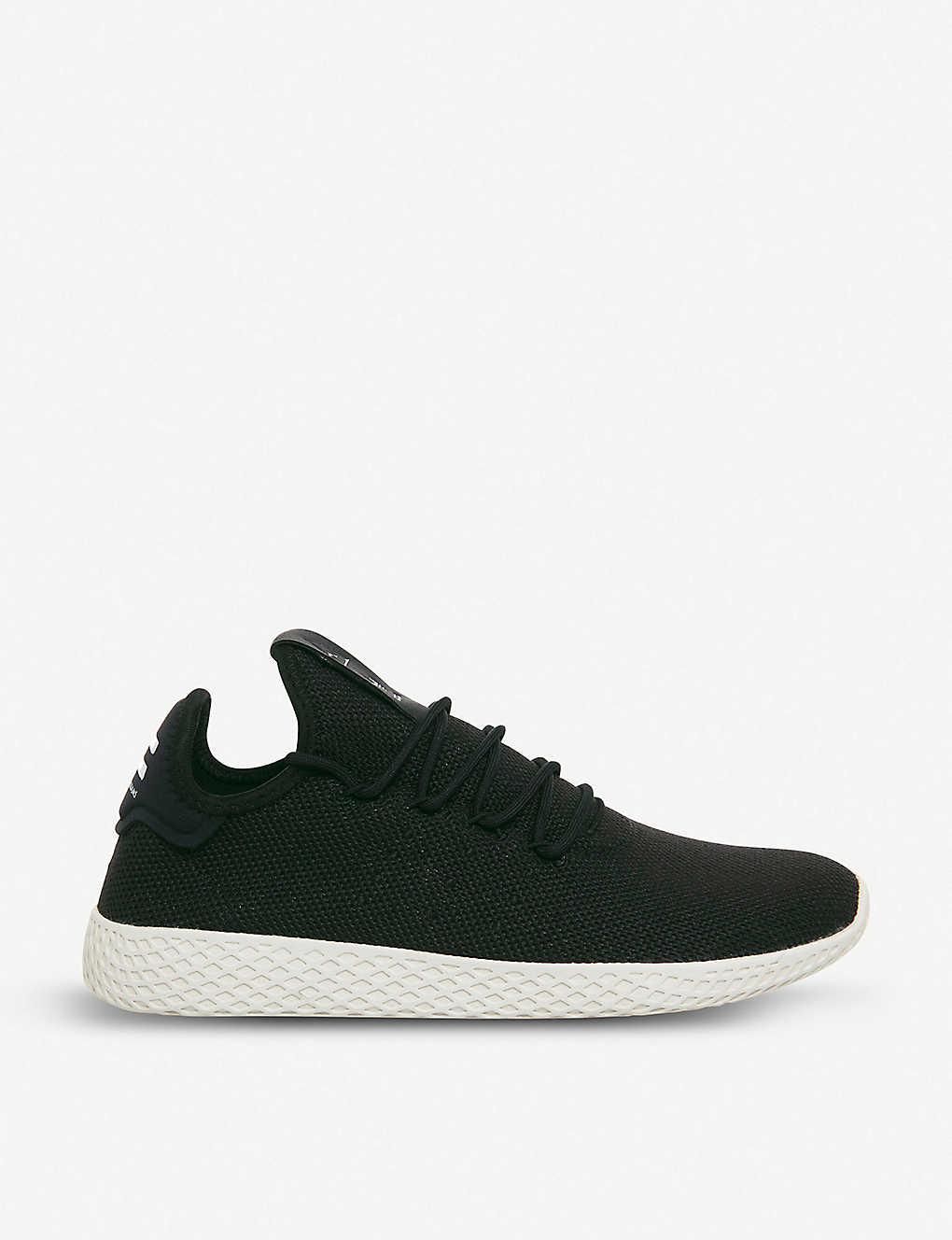 39017fdf0 adidas x Pharrell Williams Tennis Hu knit trainers - Core black ...
