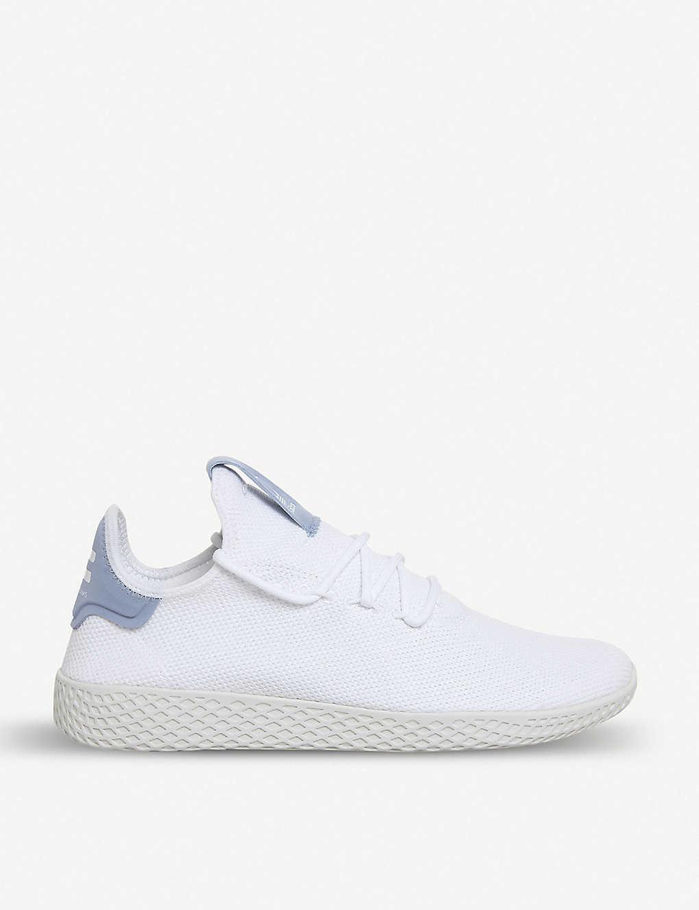 huge selection of 84589 e1070 Pharrell Williams Tennis Hu mesh trainers - White white blue ...