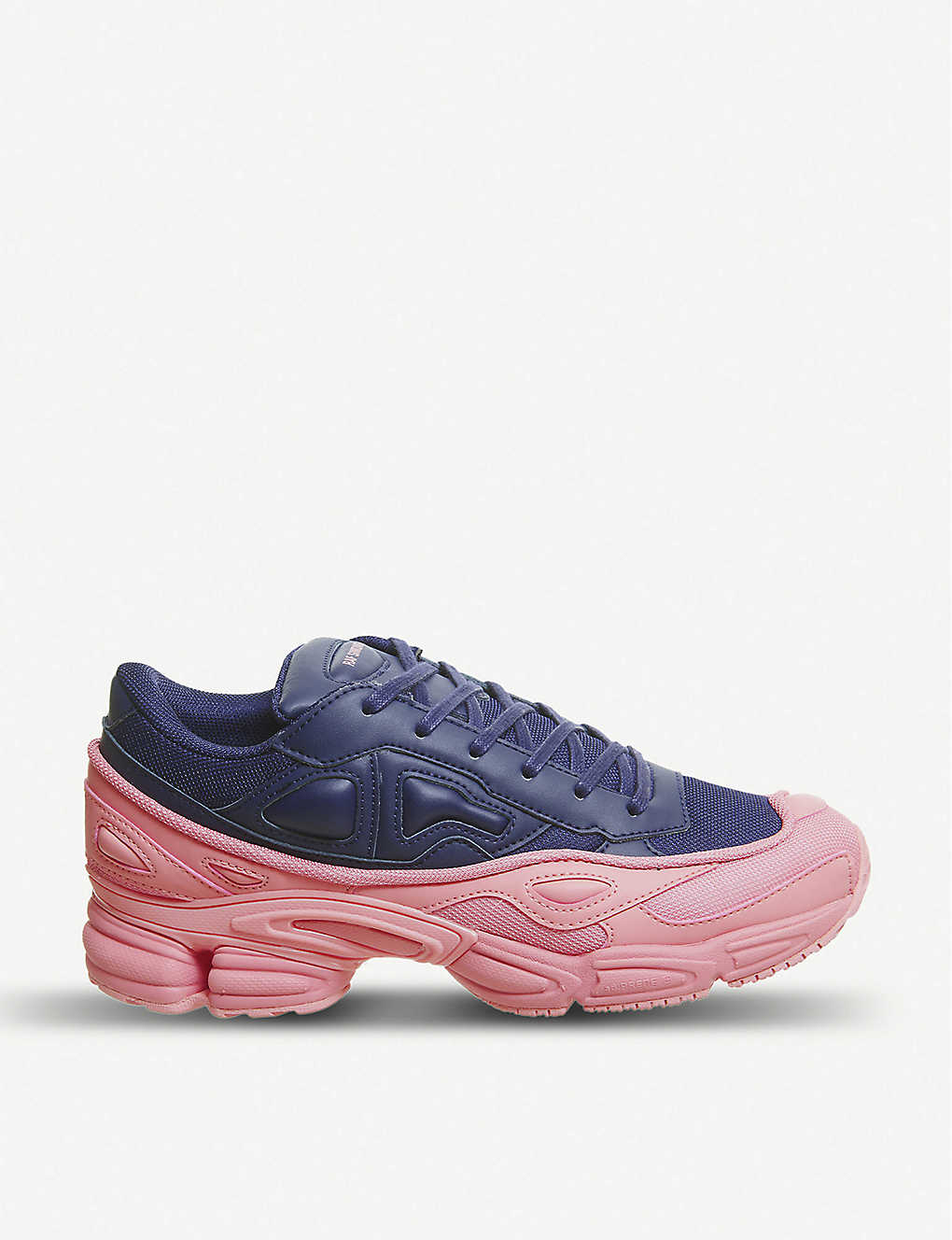 quality design 782d0 99067 Ozweego III leather and mesh trainers - Pink navy ...
