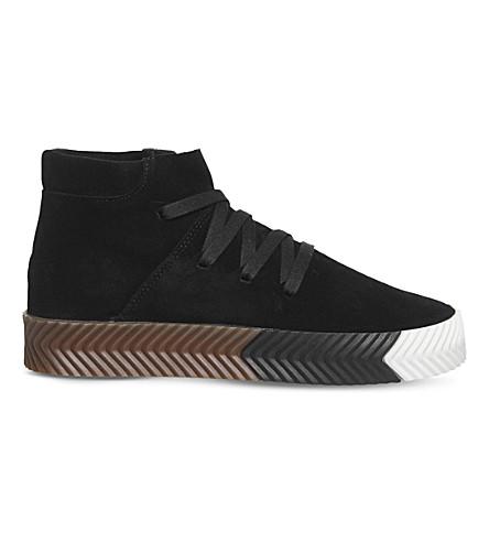low priced 6eb9d 51333 ADIDAS - Alexander Wang 中帮仿麂皮运动鞋Selfridges.com