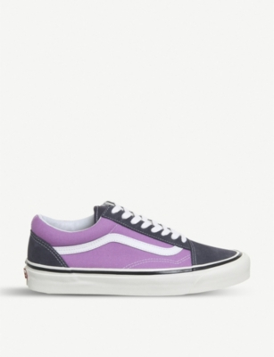 VANS Old Skool 36 DX suede and canvas trainers