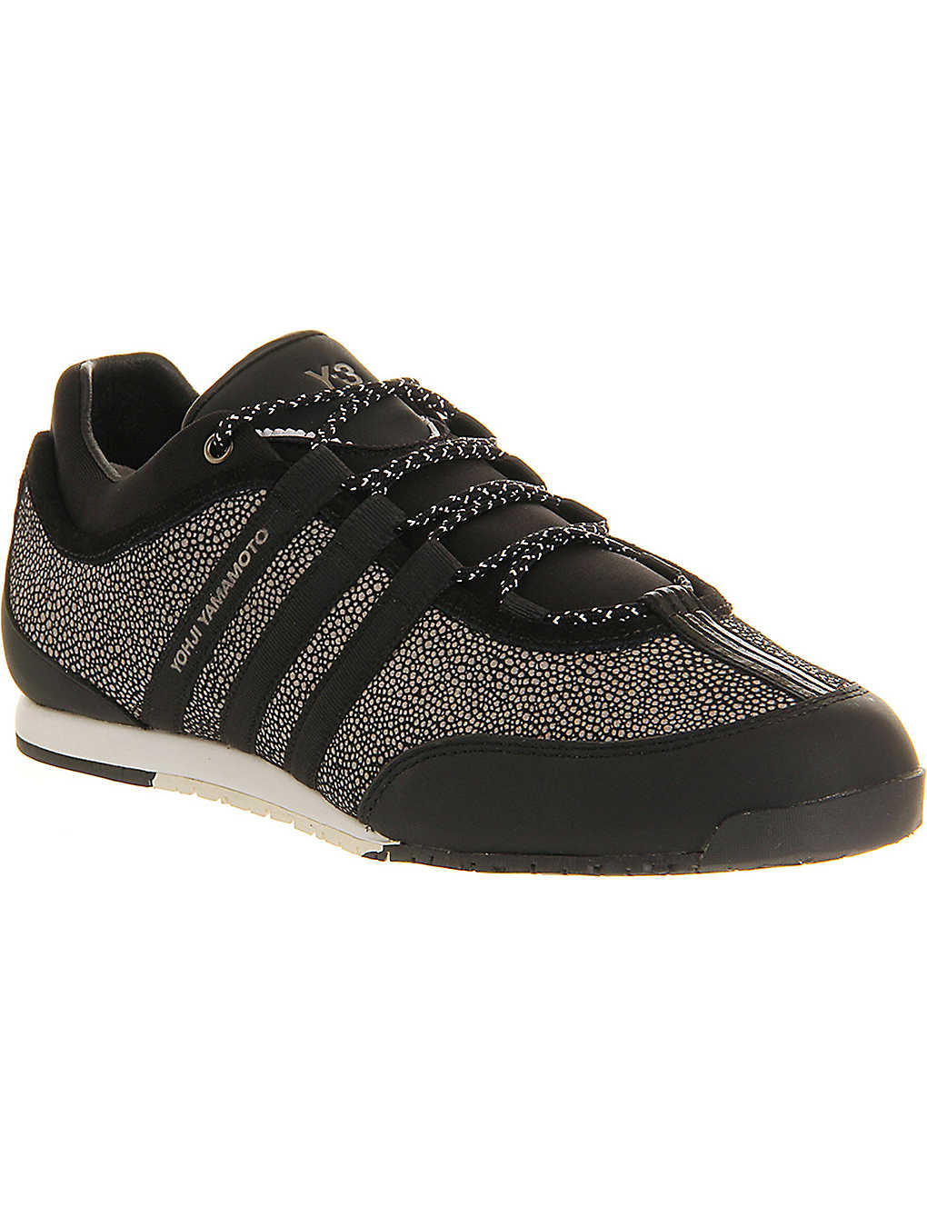 4a4f530f25d77 ADIDAS Y3 - Y3 Boxing leather trainers
