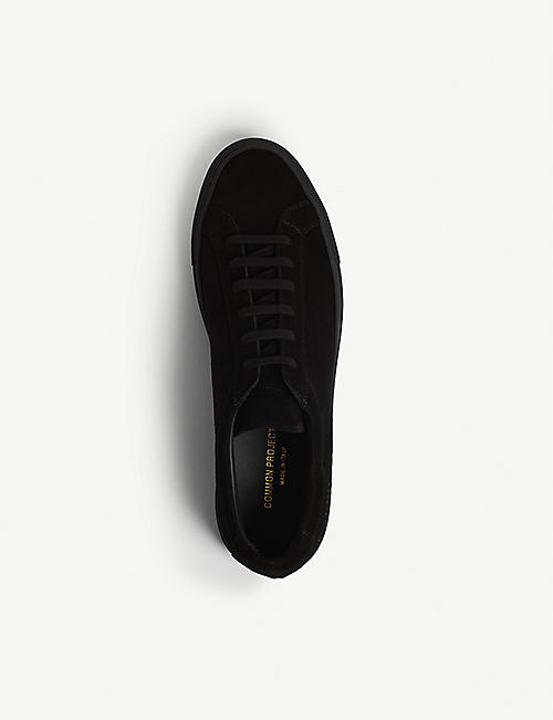 COMMON PROJECTS Achilles low-top suede trainers
