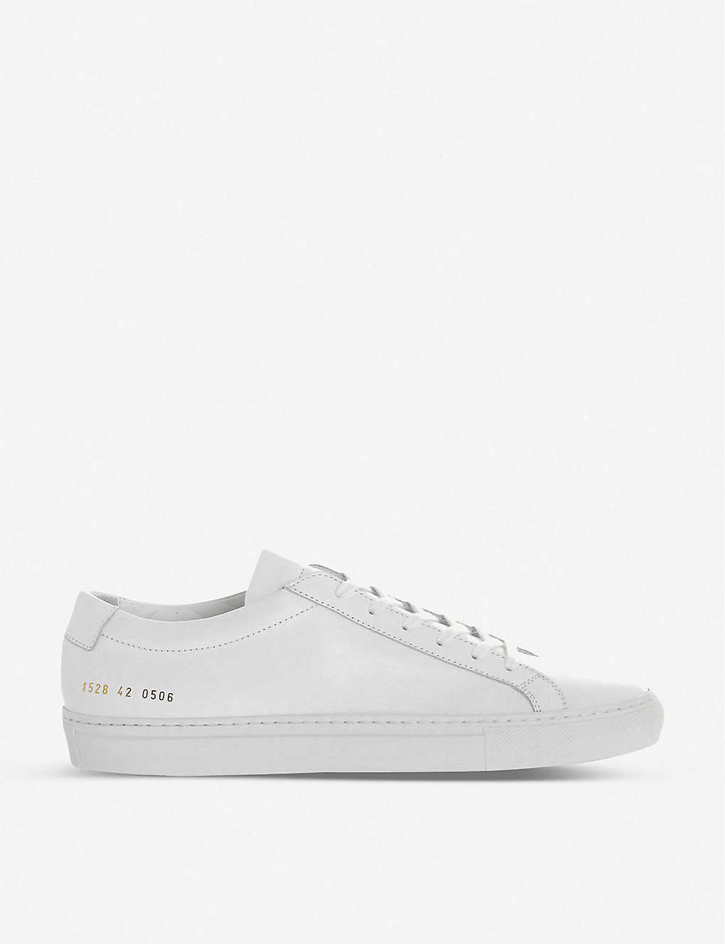 caedc30ef9875a COMMON PROJECTS - Achilles leather low-top trainers | Selfridges.com