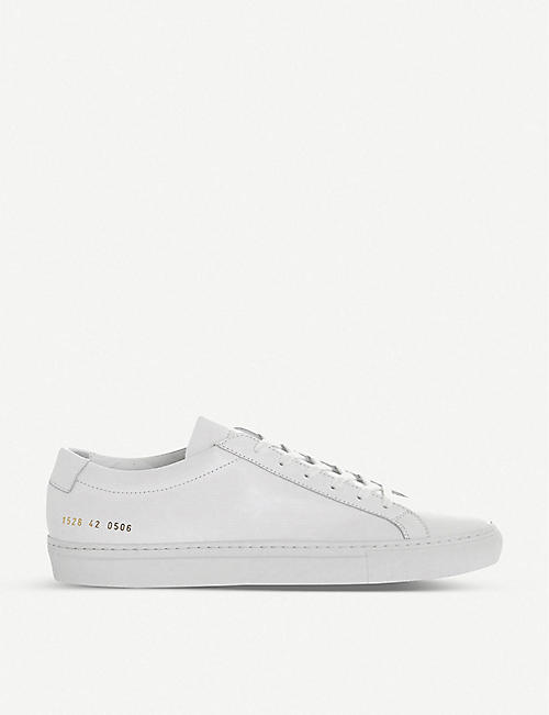 COMMON PROJECTS:Achilles 皮革低帮运动鞋