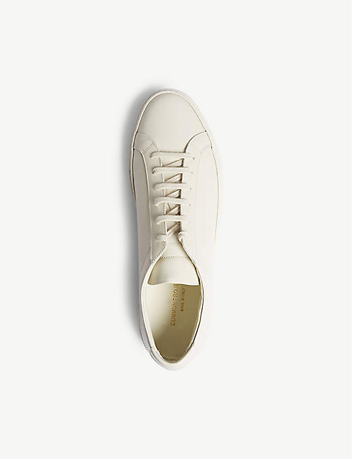 COMMON PROJECTS Achilles leather low trainers
