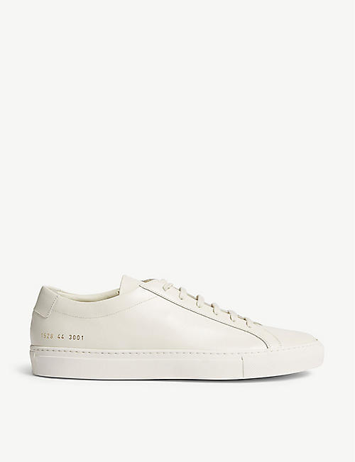 huge sale fecd3 3f305 COMMON PROJECTS Achilles leather low trainers