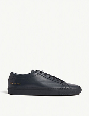 COMMON PROJECTS Achilles low leather trainers