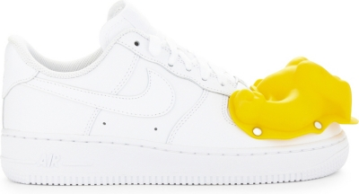 sneakers for cheap 840d9 d3207 COMME DES GARCONS - Dinosaur Air Force 1 leather trainers ...