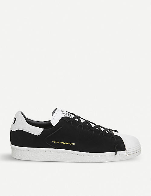 ADIDAS Y3 Y-3 Superstar Knot suede low-top trainers 615a18690d