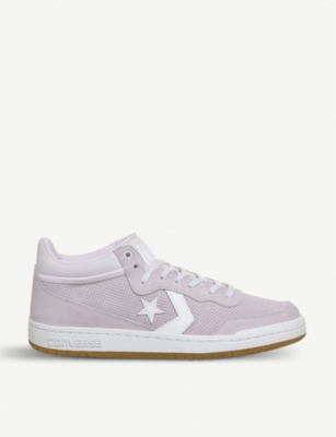 038853e06cc7 CONVERSE - Fastbreak Mid suede and mesh trainers