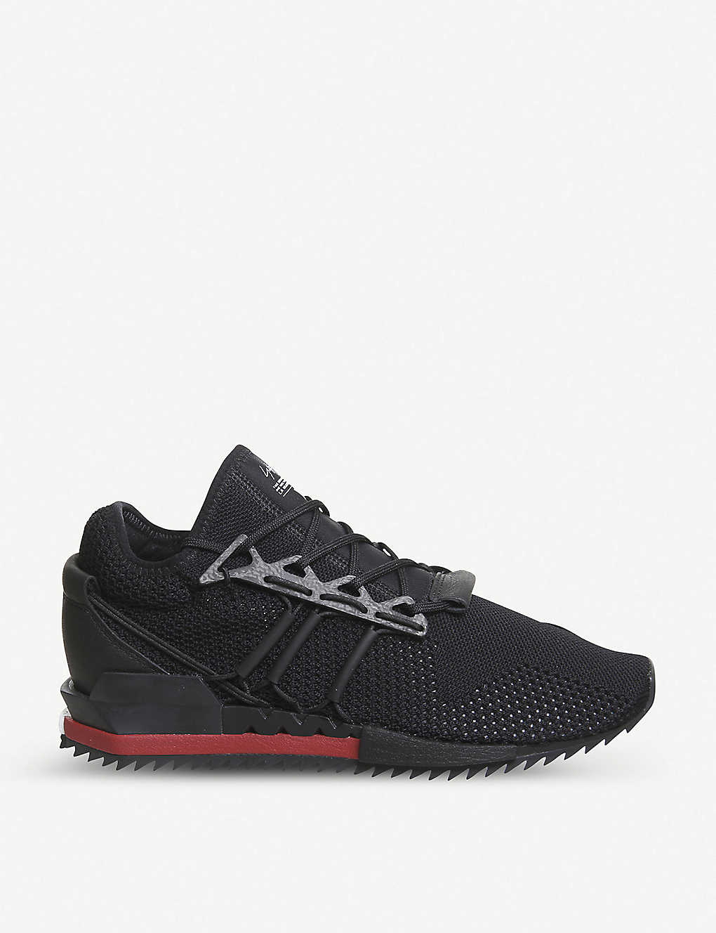 2ff68569a6056 ADIDAS Y3 - Y-3 Harigane Primeknit and leather trainers