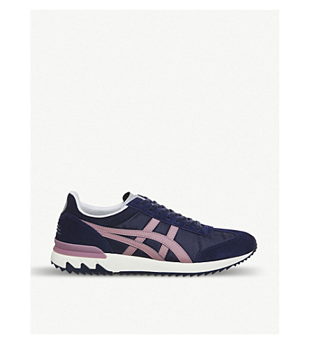 681ceb82cdf6 ASICS California 78 Ex suede and nylon trainers (Park+grey+ash+rose