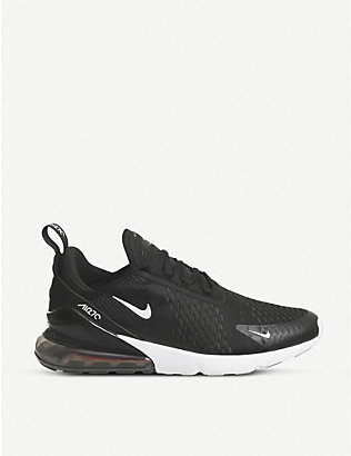 NIKE: Air Max 270 low-top mesh trainers
