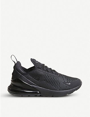 NIKE: Air Max 270 mesh trainers