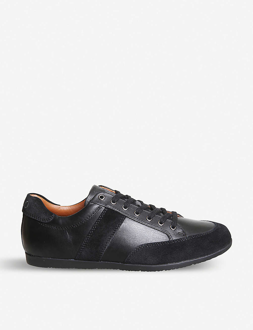 b890b77b8a82 POLO RALPH LAUREN - Price leather and suede trainers | Selfridges.com