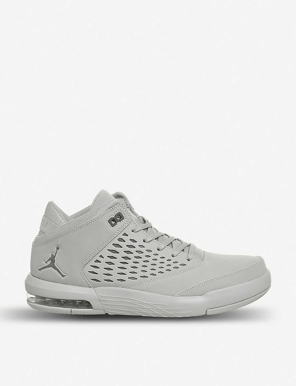 huge selection of 7a0c3 6bace NIKE - Jordan Flight Origin 4 leather and mesh trainers ...