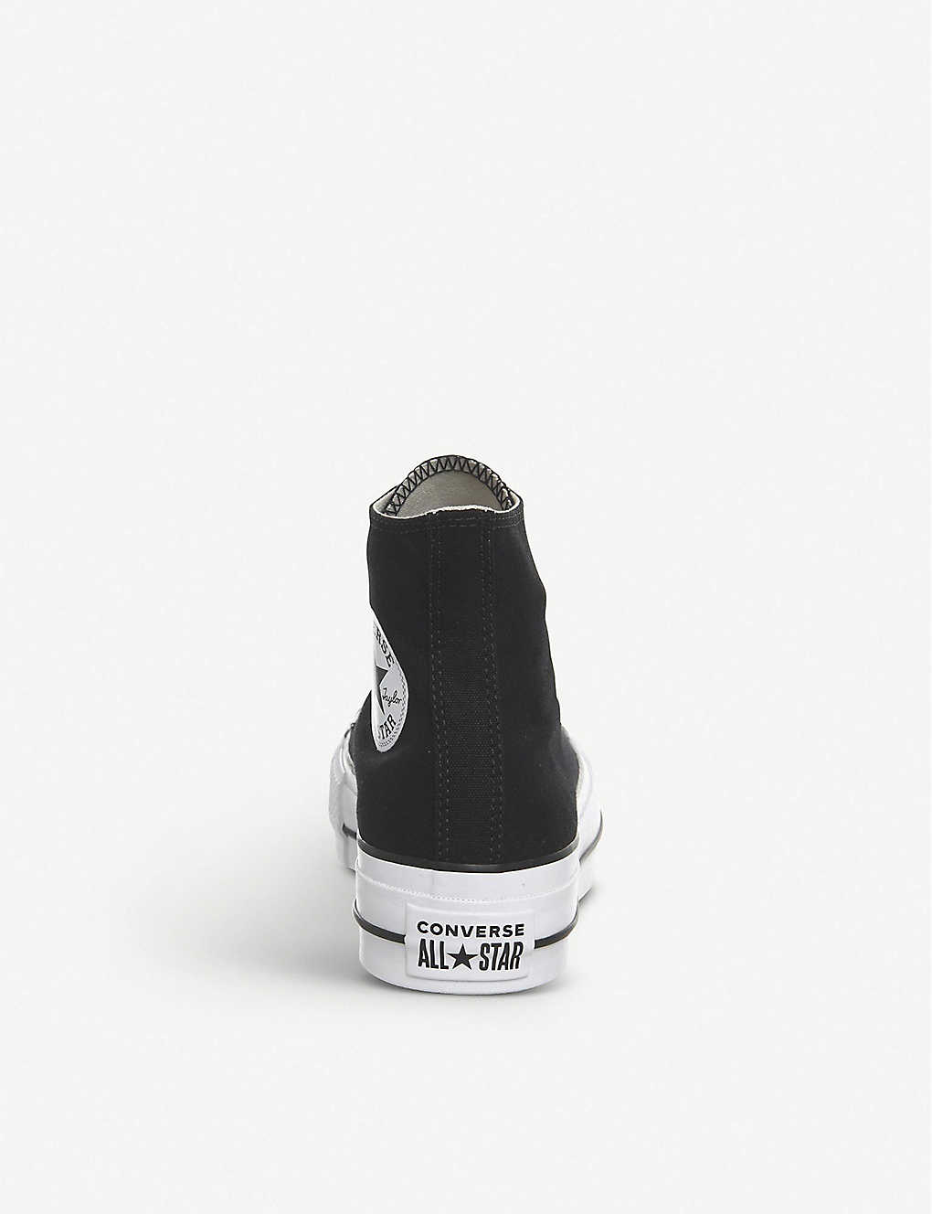 9ca23888a3af94 ... Chuck Taylor All Star Lift high-top flatform trainers - Black white ...
