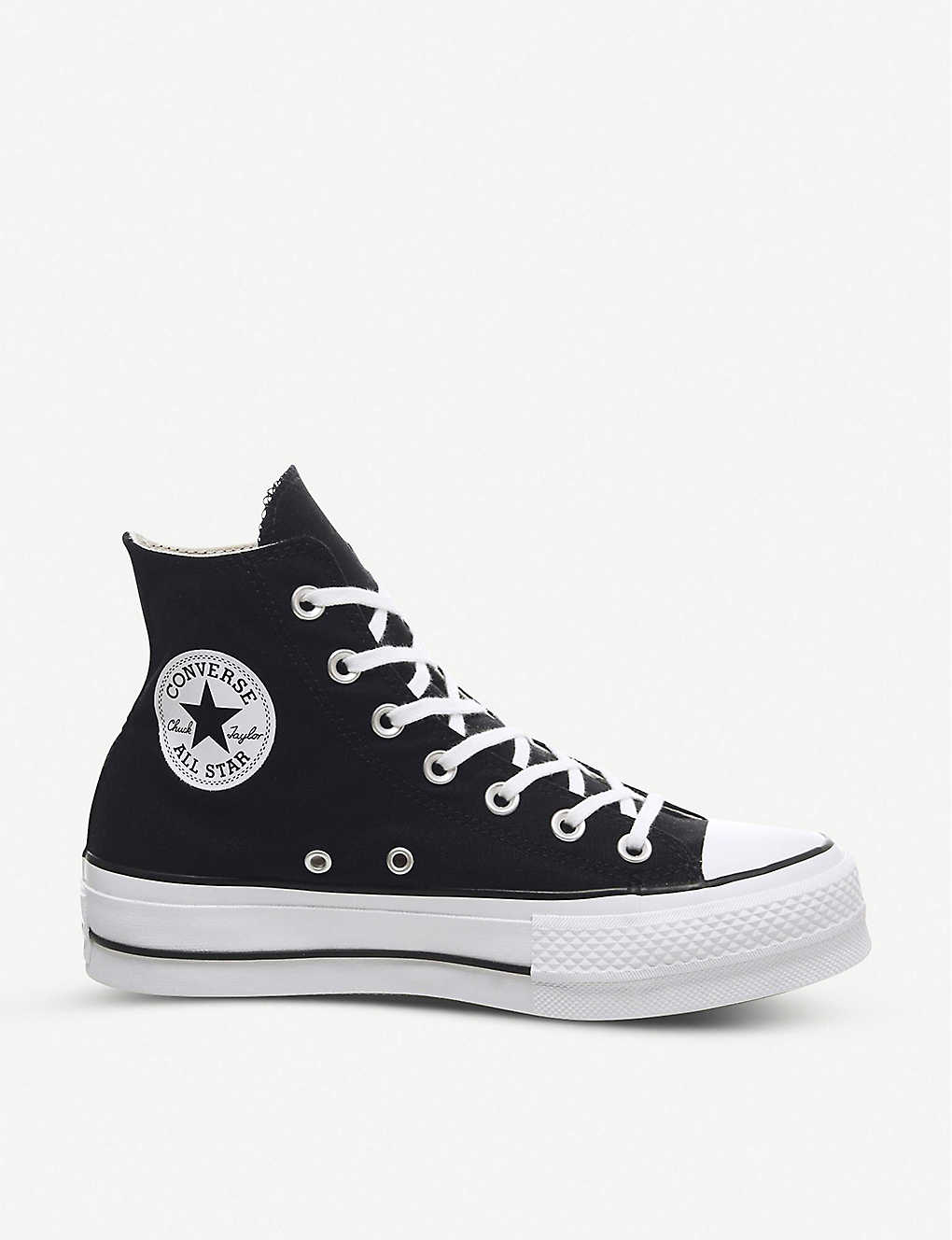 431d72c2e846 Chuck Taylor All Star Lift high-top flatform trainers - Black white ...
