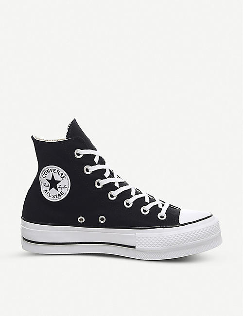 73d46201399e CONVERSE Chuck Taylor All Star Lift high-top flatform trainers