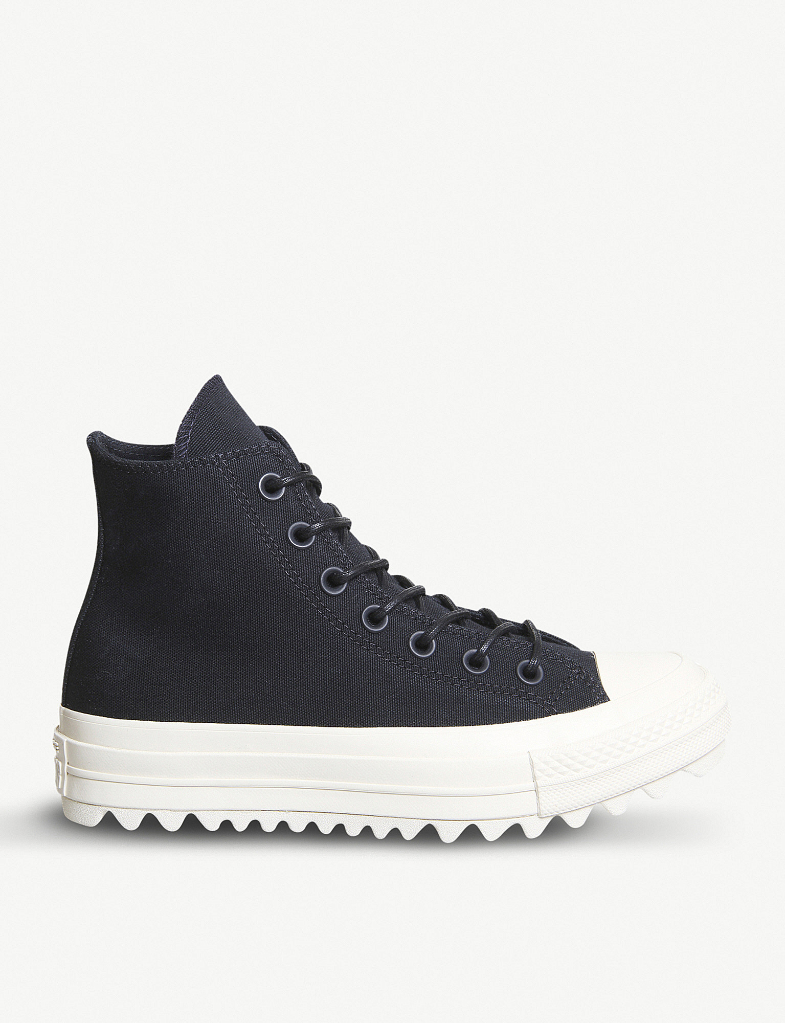 654fb11308d705 ... Chuck Taylor All Star Lift Ripple canvas high-top flatform trainers  zoom ...