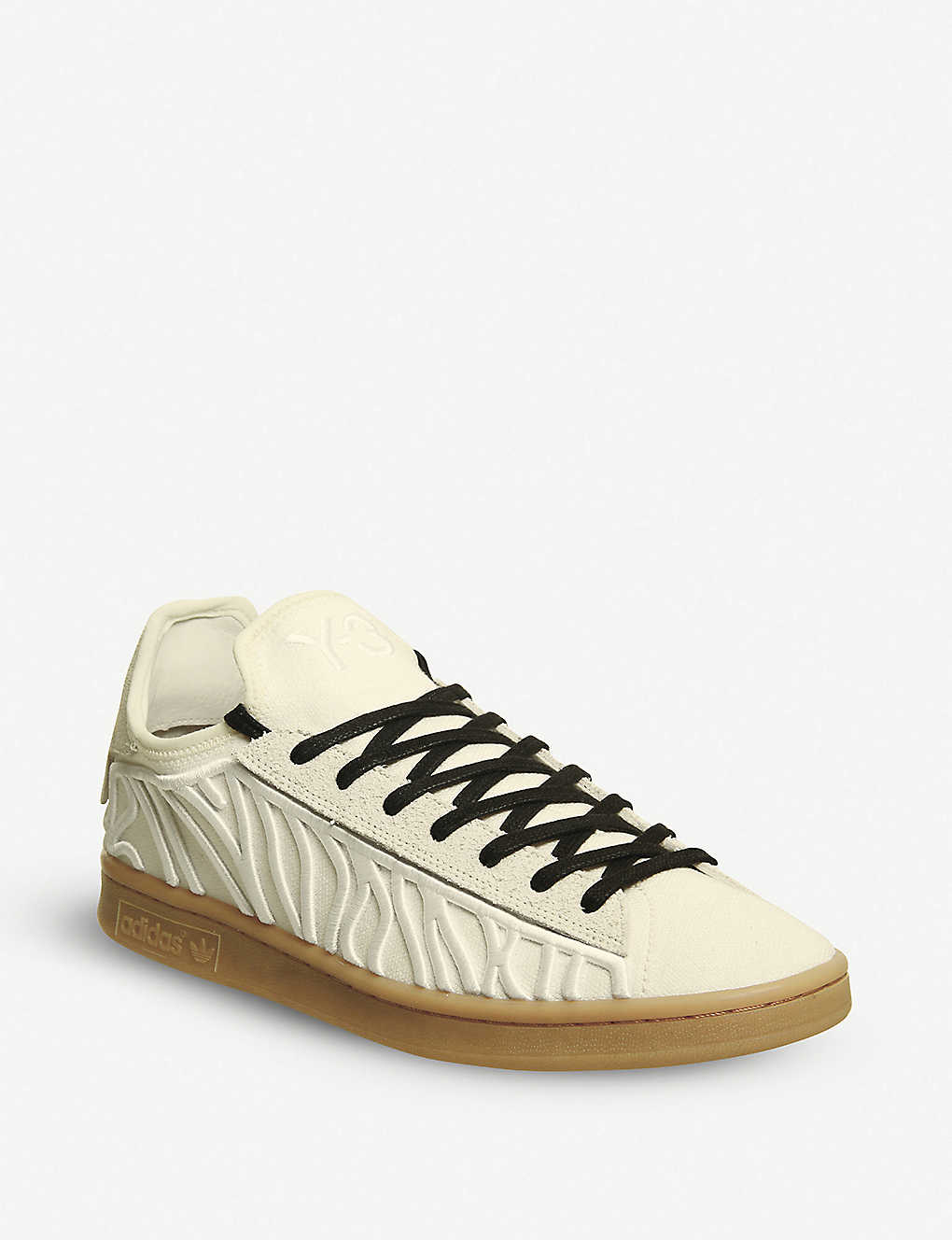 15d8761aa ADIDAS Y3 - Y-3 Shishu Stan stripe-embroidered trainers