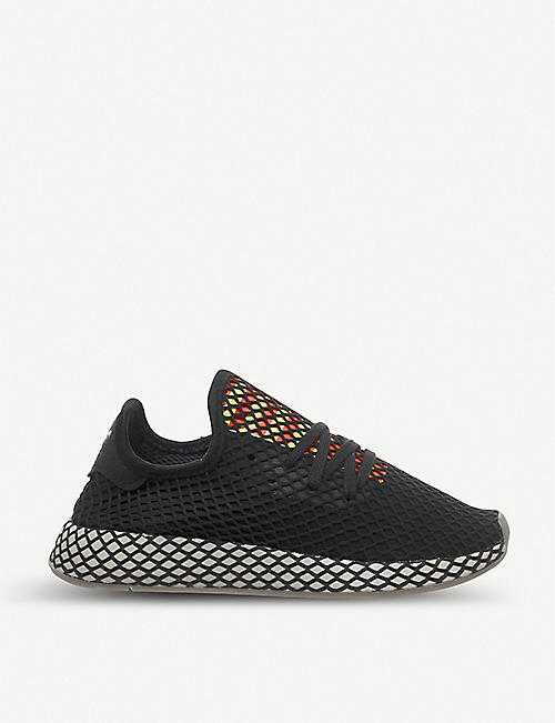ADIDAS Deerupt mesh and webbing trainers