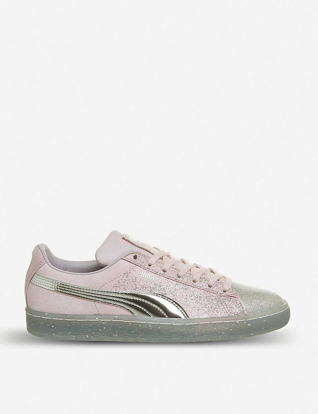 de613554e5be PUMA - Puma x Sophia Webster Suede glitter princess trainers ...